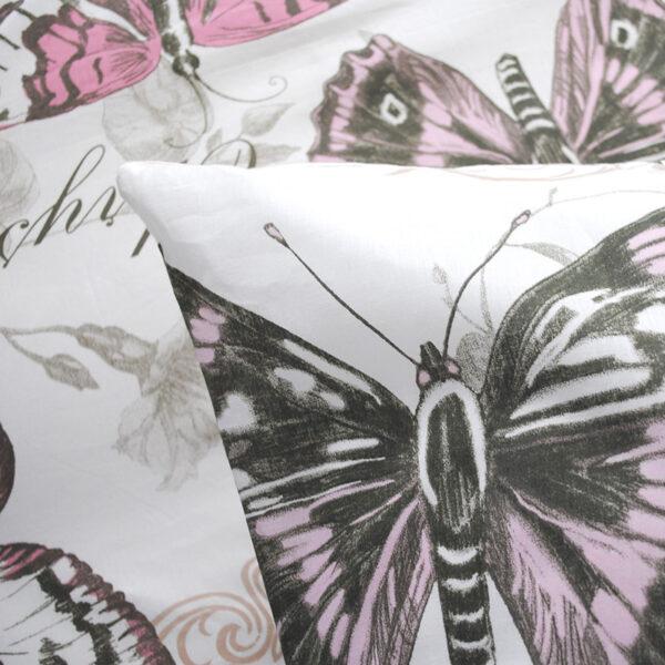 jilda tex bettwaesche vintage butterfly rose bild5