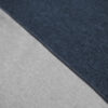 Bettwäsche im Design Blue Stripe Light Grey Nahaufnahme