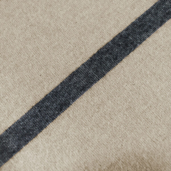 Bettwäsche im Design Stripes Beige Nahaufnahme