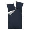 Bettwäsche im Design Uni Light Grey Blue Freisteller