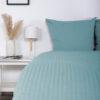 Bettwäsche im Design Valencia Himmelblau von vorne (zweites Emotionsbild)