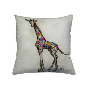 jilda-tex Zierkissen Gemmy Giraffe (45x45cm)