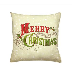 jilda-tex Zierkissen Merry Christmas (45x45cm)