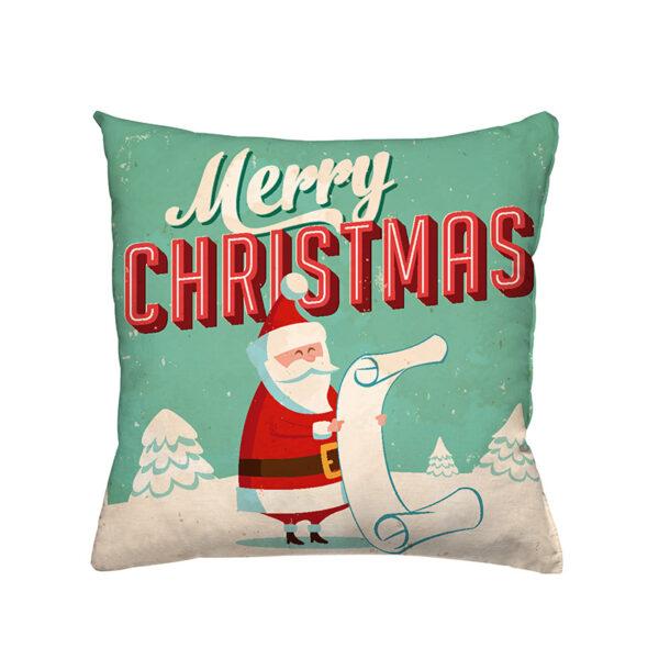 Zierkissen Santa Claus - Weihnachtsdesign mit einem Weihnachtsmann