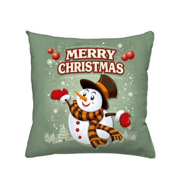 Zierkissen Snow - Weihnachtsdesign mit Schneemann