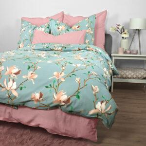 """jilda-tex Bettwäsche Renforcé """"Magnolia Blossom"""" (135x200cm)"""