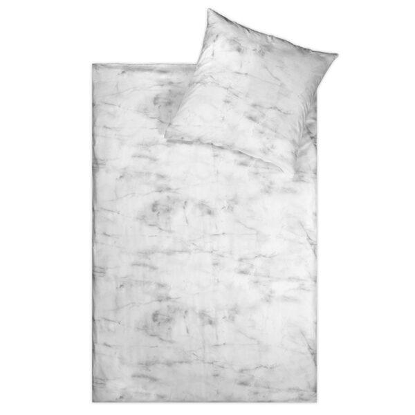 Linon Bettwäsche im Marmor-Design freigestellt