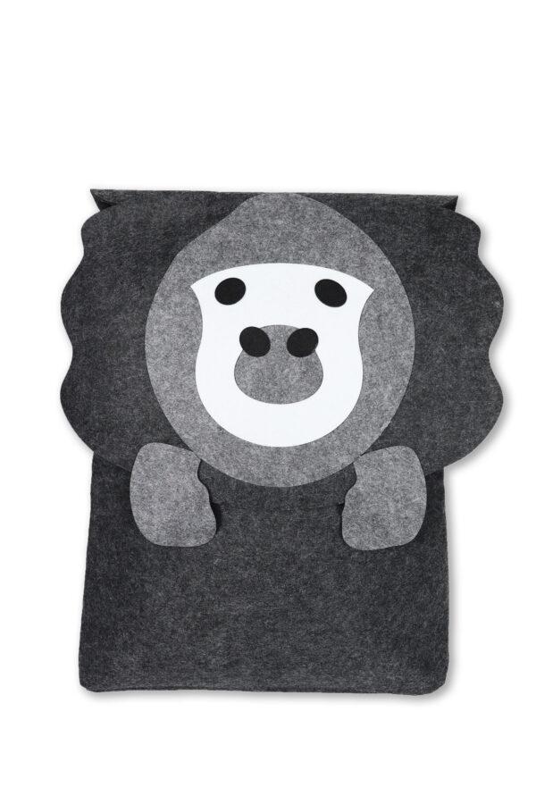 Filz Aufbewahrungstasche Filou Kids Gorilla 1 scaled